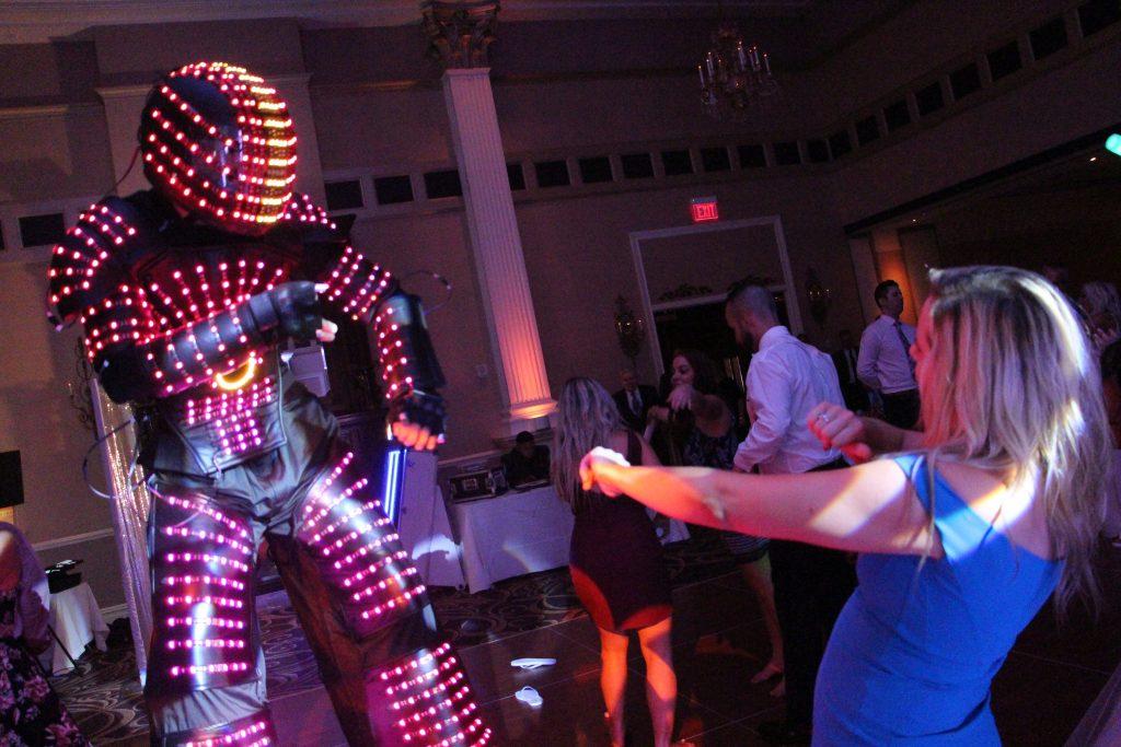 Wedding DJ Sweet 16 DJ LED Robot New Jersey NJ